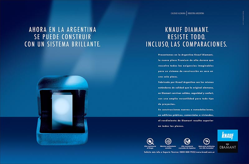diamant x knauf